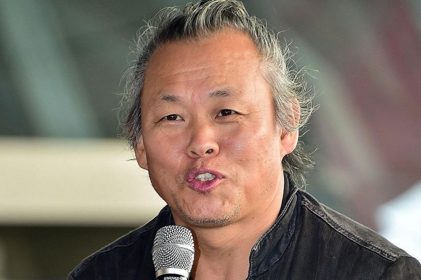 An actress claims that director Kim Ki Duk (above) slapped her and forced her to perform a sex scene.