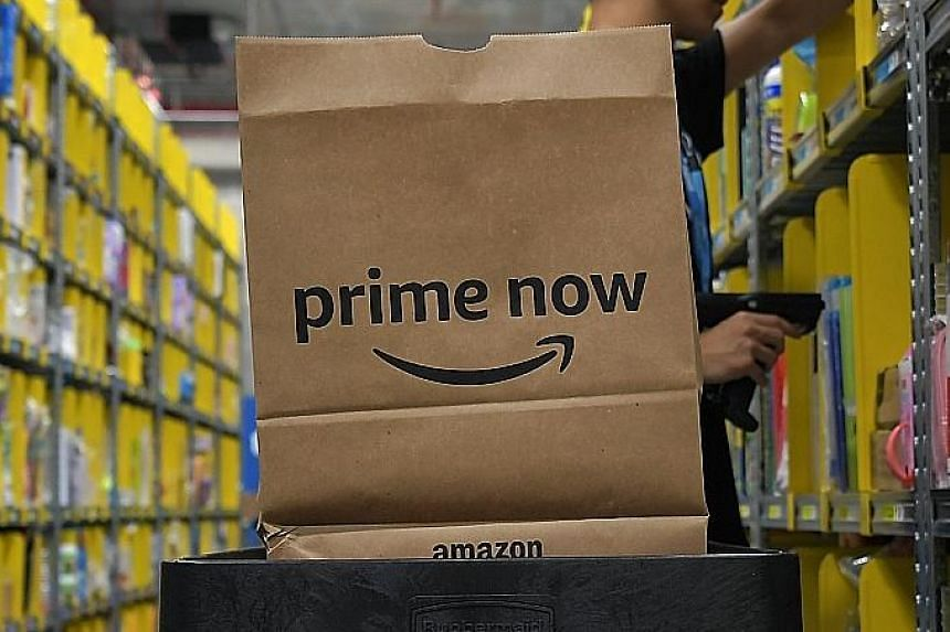 Amazon Prime Now offers products for delivery islandwide within two hours.