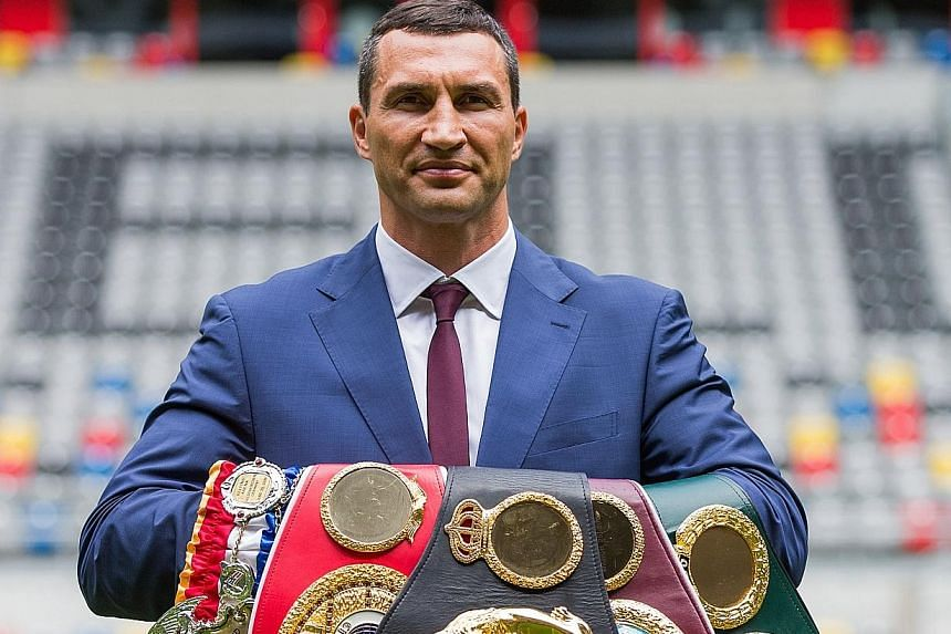 Ukrainian Wladimir Klitschko has retired from boxing with a record of 64 wins, including 53 knockouts, and five defeats.