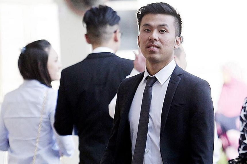 Khong Tam Thanh, 22, is one of three Britons of Vietnamese descent on trial for the alleged rape of a Malaysian woman at Carlton Hotel in Bras Basah Road last year. The trio are accused of taking turns to rape the woman while she was drunk and asleep