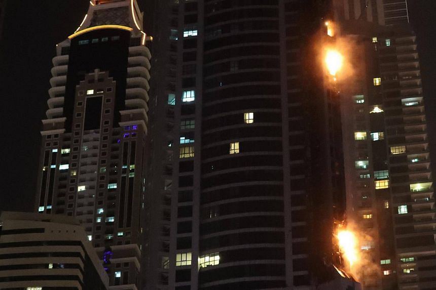The Torch Tower in Dubai erupted into a massive blaze on Aug 4, 2017.