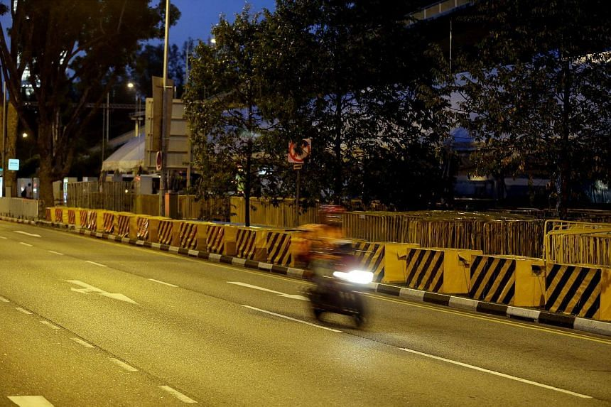The use of large concrete blocks to protect against vehicle attacks will be extended to more areas along Marina Bay for this year's National Day Parade (NDP) celebrations.