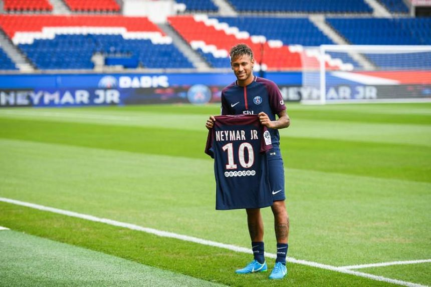 Brazilian superstar forward Neymar will wear the coveted No. 10 jersey at PSG, with the number having been vacated by Argentinian midfielder Javier Pastore.