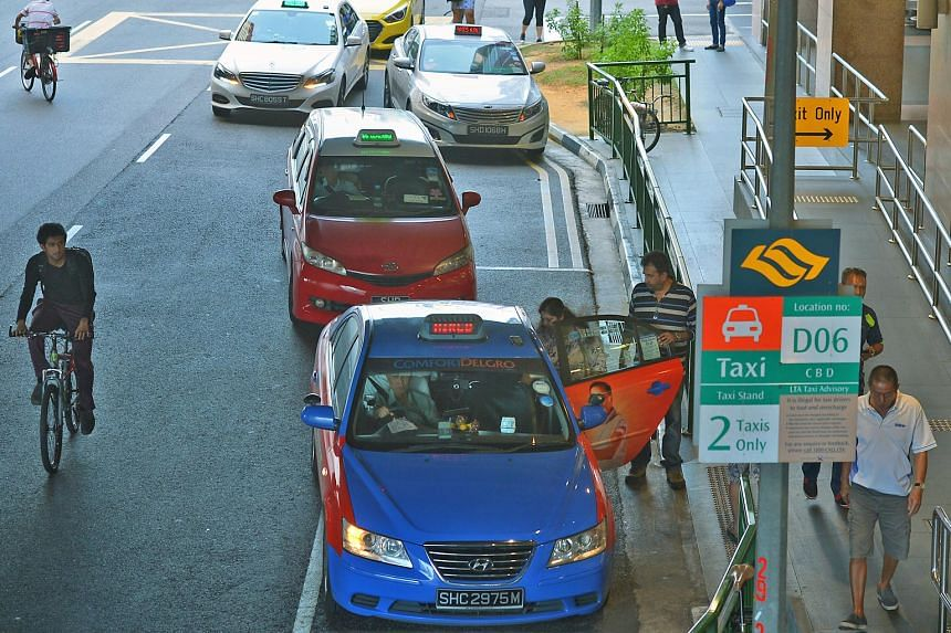 Using unhired taxis for delivery purposes would be contributing to overall service productivity, said Dr Lee Der-Horng.