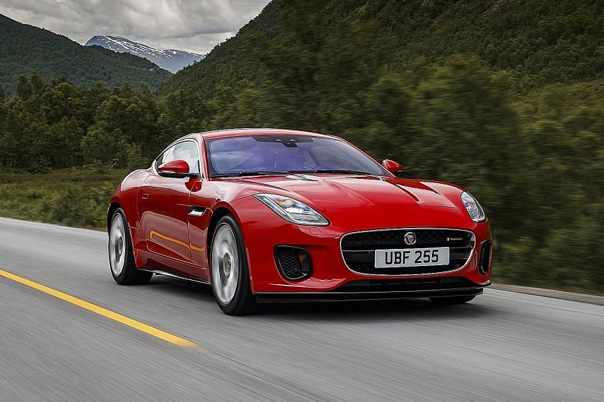The Jaguar F-Type 2.0 Coupe offers a century sprint timing of 5.7 seconds.