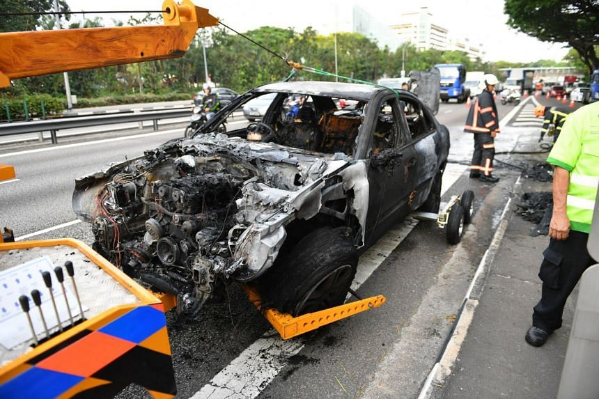The driver told the Chinese daily that he bought the car eight months ago and changed the car's air conditioning system the day before the incident.