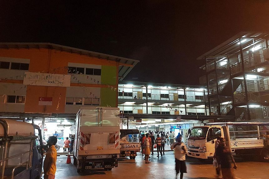 Simpang Lodge 2 is one of the two workers' dormitories located in Yishun Avenue 7. It is unknown which one the worker who died from diphtheria lived in. The 48 contacts who worked directly with or lived close to the worker were given preventive medic