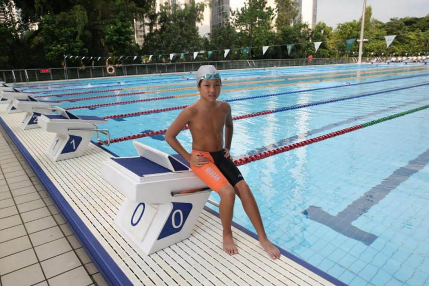 Reagan Cheng, the CSC swimmer who was also last year's Most Valuable Swimmer for eight-year-olds, broke meet records in five of the eight races that he won this year.