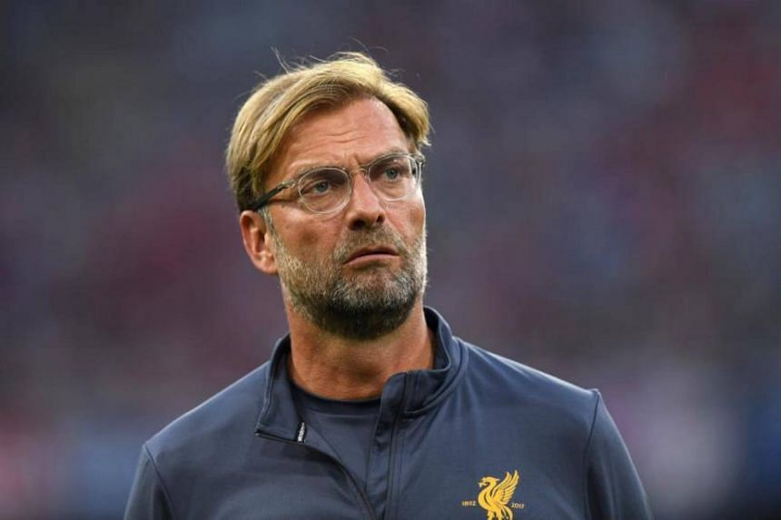 Liverpool's headcoach Juergen Klopp is pictured during the final Audi Cup football match between Atletico Madrid and FC Liverpool in the stadium in Germany, on Aug 2, 2017.