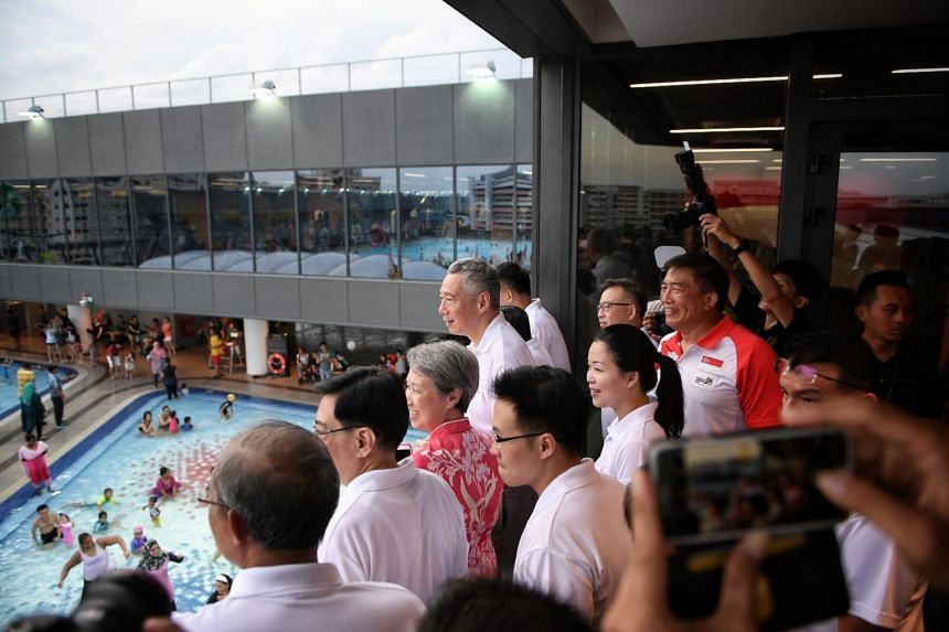 Our Tampines Hub grand opening, officiated by PM Lee.