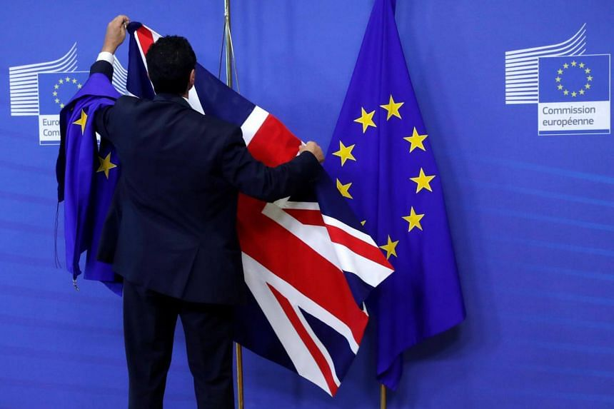 There was little compromise between British and EU chief negotiators on key disputes during the first full round of Brexit talks.
