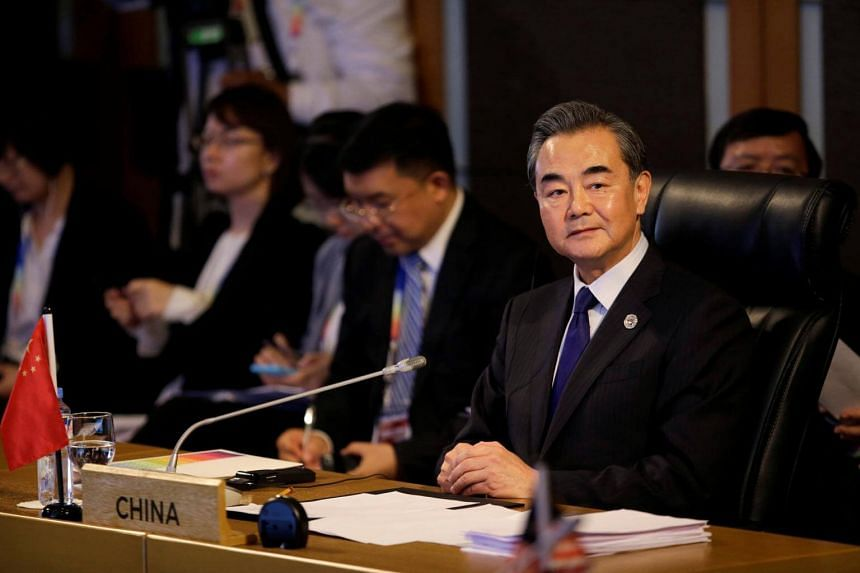 Chinese Foreign Minister Wang Yi cancelled the meeting with his Vietnamese counterpart Pham Binh Minh, reportedly due to a spat over the South China Sea.