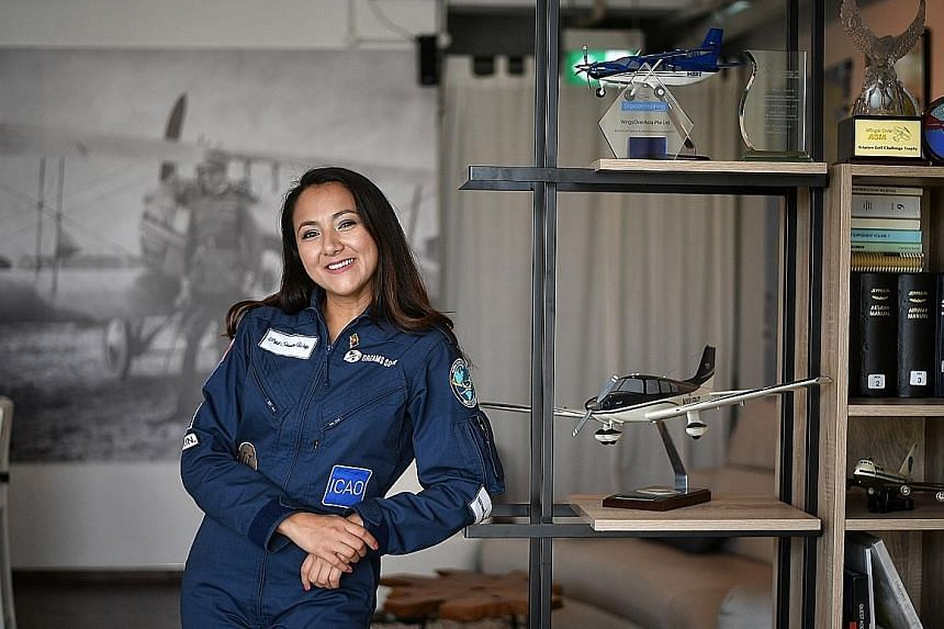 Ms Shaesta Waiz did not let her gender or her background stand in the way of earning degrees in aviation. She is using her round-the-world trip to raise funds to help students interested in science, technology, engineering and maths, and do outreach