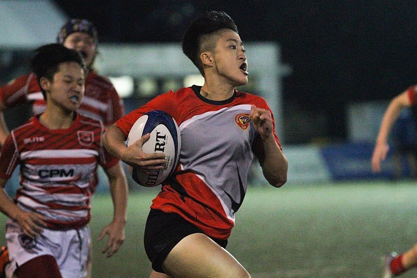 Jayne Chan is on the fast track with the national women's rugby sevens team. The former youth basketballer has not looked back since her decision to take up the sport in January.