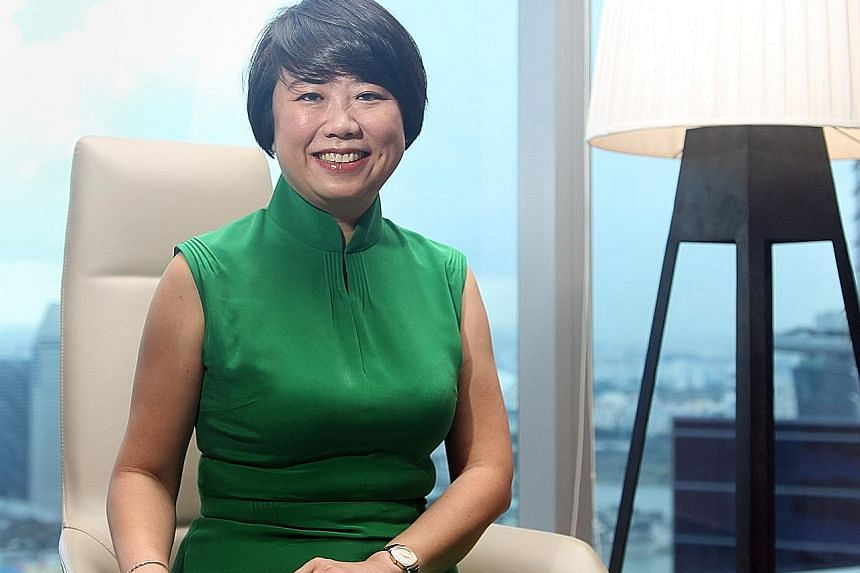 At DBS, SME banking head Joyce Tee feels that building strong relationships with her clients is key to helping them define their needs, and manage risk and debt successfully in order to grow their businesses.