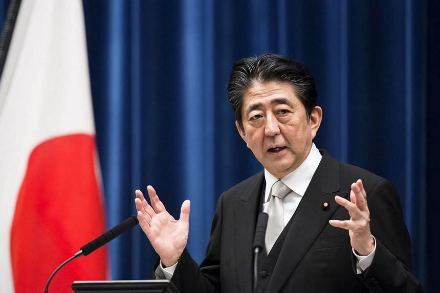 Japanese Prime Minister Shinzo Abe's latest disapproval rating, at 48 per cent, still exceeds the support rate.