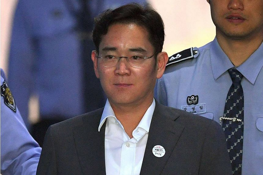 Samsung Electronics Vice-Chairman Lee Jae Yong has been in detention since February, but denies any wrongdoing.