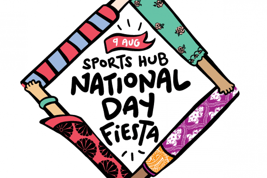 The  National Day Fiesta will take place on Aug 9 at the Singapore Sports Hub.