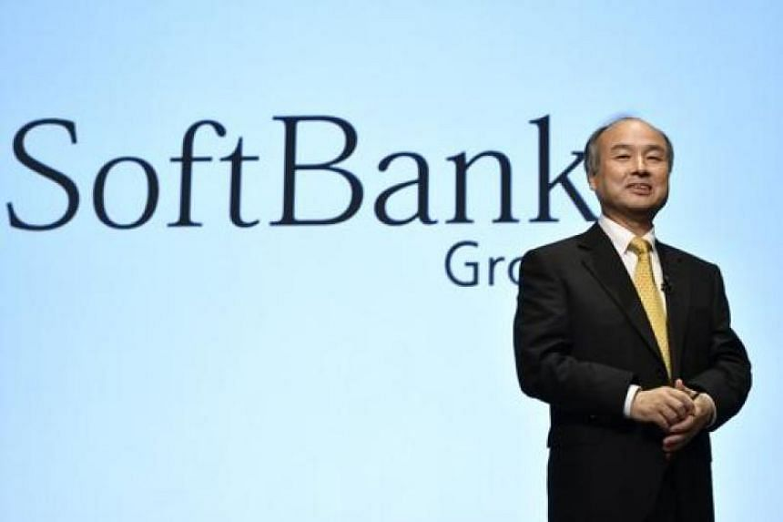 SoftBank Group Corp. founder, Chairman and CEO Masayoshi Son during a press conference in Tokyo, Japan. PHOTO: EPA