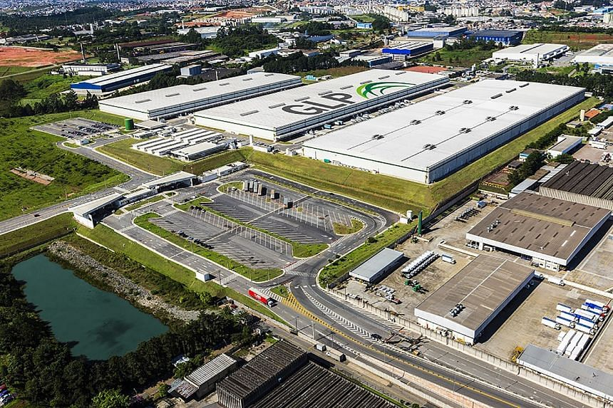 Global Logistic Properties Limited's facility in Sao Paulo, Brazil. The company's net profit fell to US$144.2 million from US$202.9 million in the first quarter.
