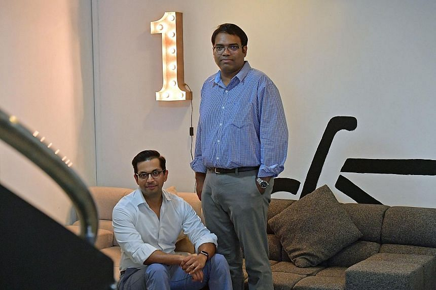 Dr Snehal Patel (left) and Dr Vas Metupalle, co-founders of MyDoc, said that while patients were ready for change, healthcare professionals took a little longer to accept their concept. The firm plans to enter new markets like China, India and Thaila
