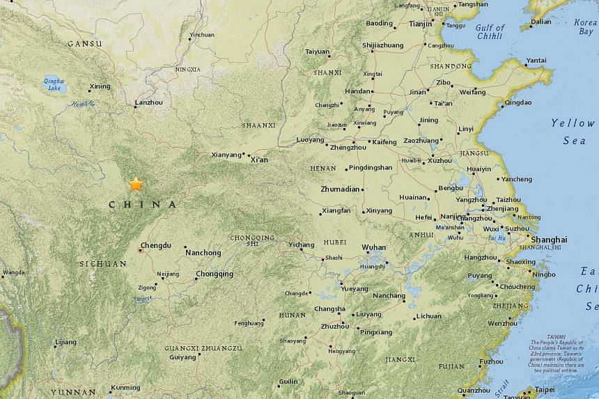 The magnitude 7 quake struck along the border between Sichuan and Gansu provinces, on Aug 8, 2017.