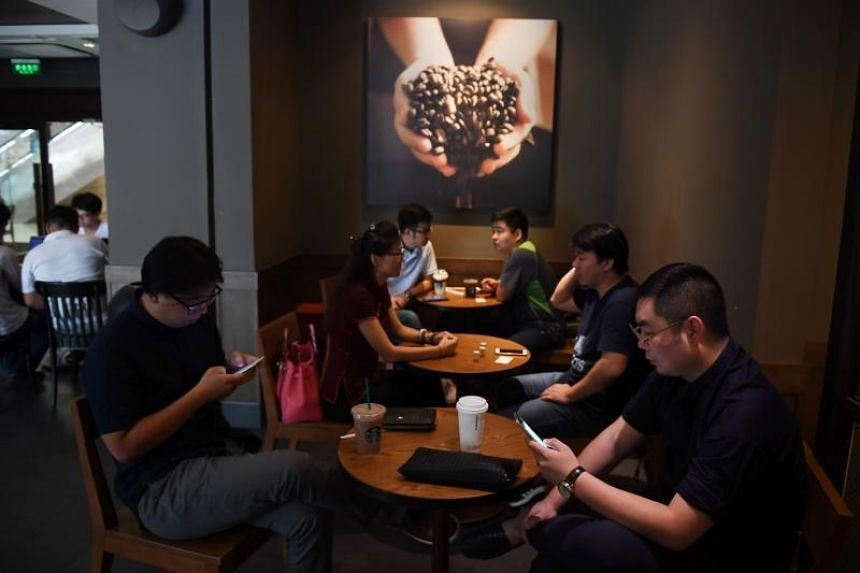 Chinese consumers are flocking to coffee shops and developing a taste for what is viewed as a trendy Western beverage.