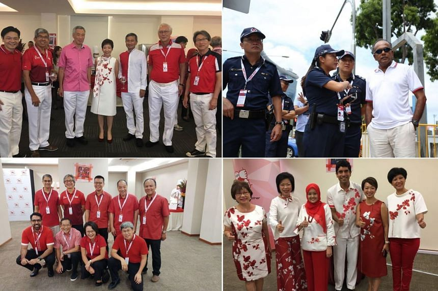 MPs were out in full force for Singapore's 52nd birthday.