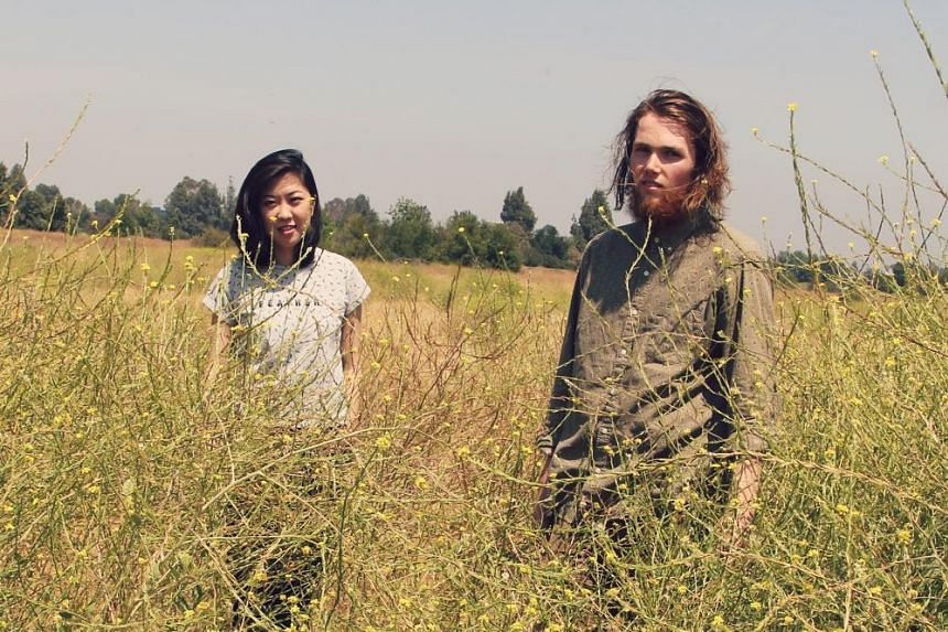 Los Angeles-based Singaporean Shao Jean collaborated with American singer-songwriter Leyeux (both above) for Awaken.