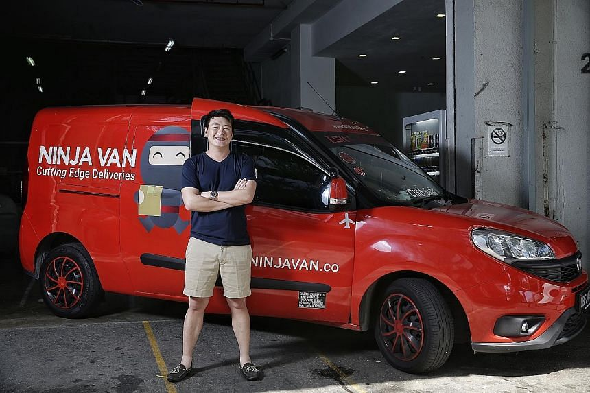 Mr Lai Chang Wen said Ninja Van used technology to optimise its sorting, packing and delivery processes.