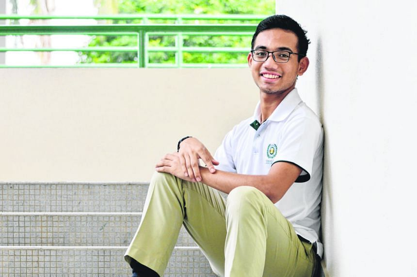 Seventeen-year-old Muhammad Luqman Abdul Rahman responds to emergencies because he knows he would want others to do the same for him, should he need help.