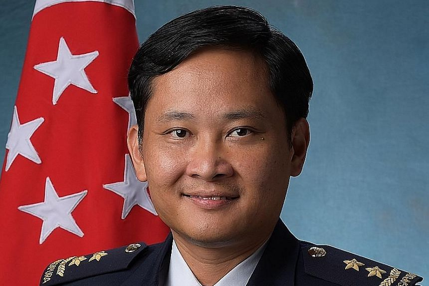MG Mervyn Tan Wei Ming leads the RSAF in maintaining a high state of readiness to safeguard Singapore's airspace.
