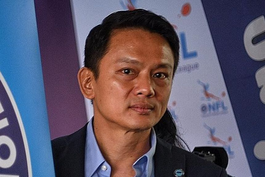 Winston Lee was appointed FAS general secretary in 2008.