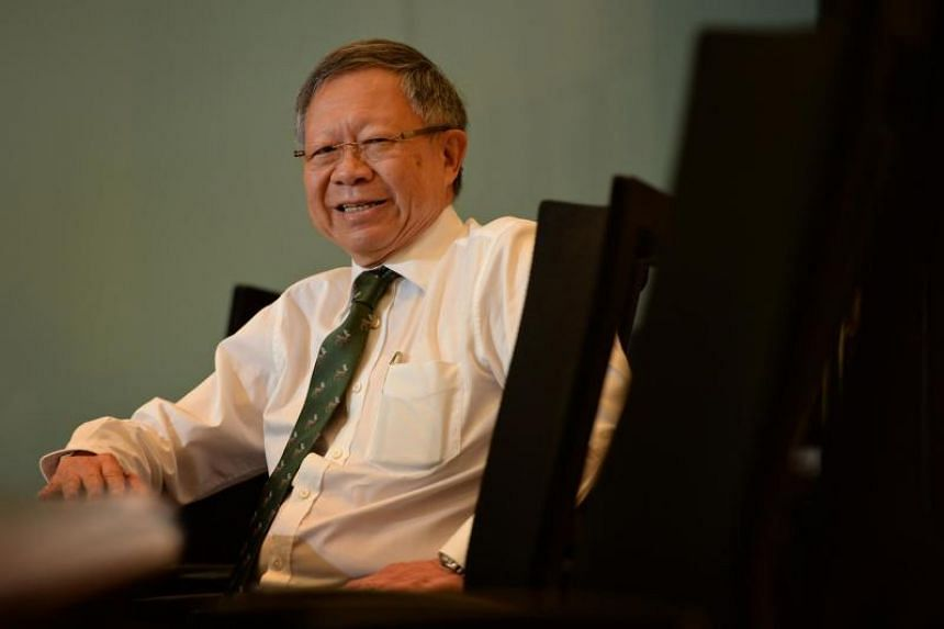 Eddie Teo was given the Order of Nila Utama (First Class) - one of Singapore's top national honours.
