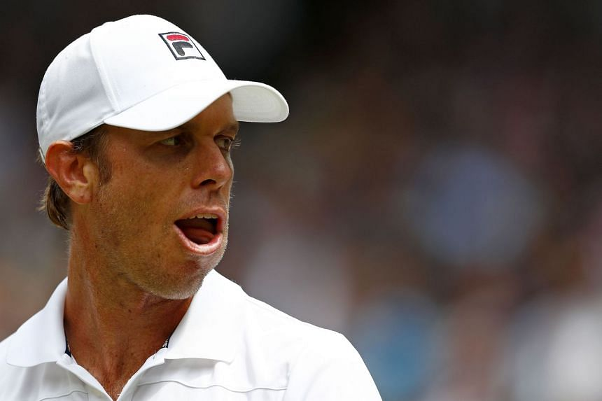Querrey (above) beat Frenchman Vincent Millot 4-6, 7-6(4), 7-5.