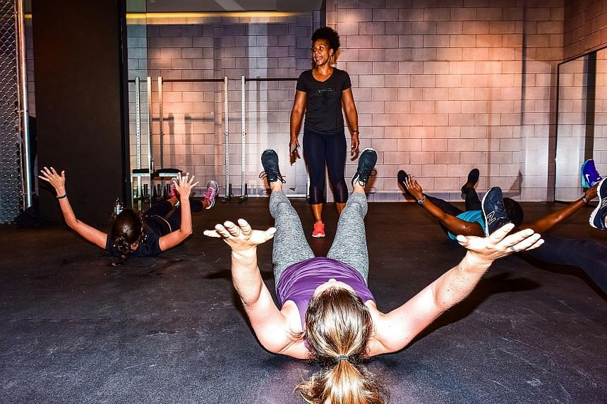 "ConBody, a ""prison-style boot camp"", is one of the programmes offered at Saks Fifth Avenue."