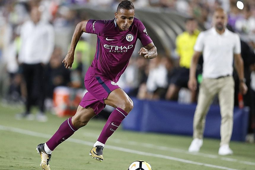 Manchester City right-back Danilo is one of four defensive players manager Pep Guardiola has brought in to shake up his backline.