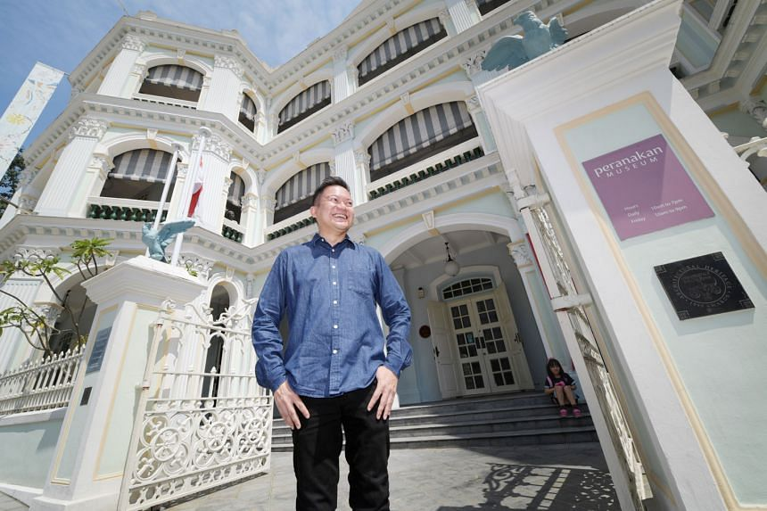 """Mr John Teo, the general manager of the Peranakan Museum, says the museum is """"conscious of the building's history as the Tao Nan School"""", and has demonstrated this with panels on the ground floor that depict the school's history. According to him, Pe"""
