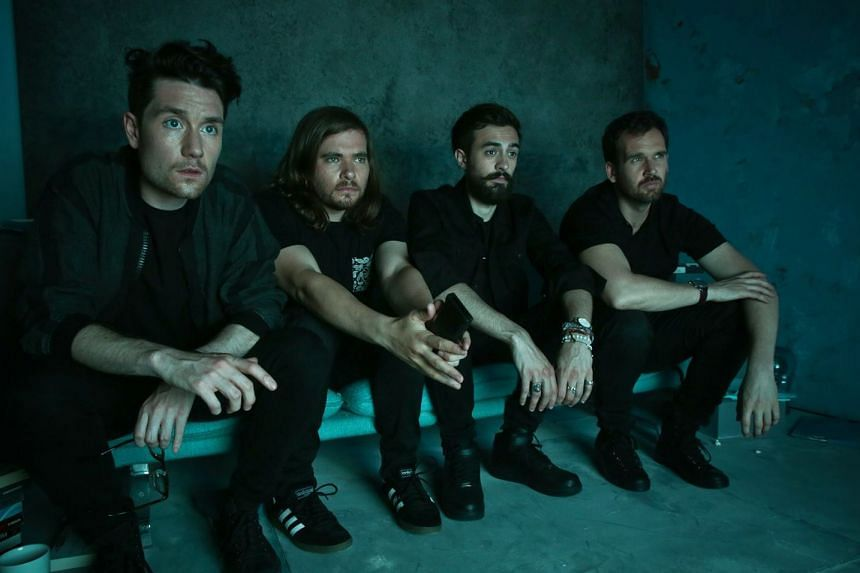 Bastille (above from left, Dan Smith, Chris Wood, Kyle Simmons and William Farquarson)