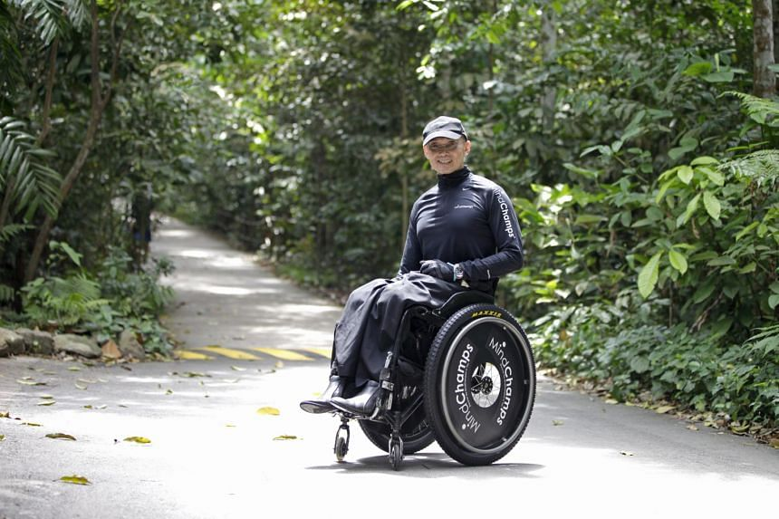 Paralympian William Tan will be taking part in the Larapinta Trail challenge on Aug 15, 2017.
