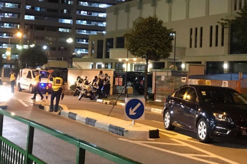 The accident occurred at the intersection of Tampines Avenue 3 and Tampines Street 81, a road section where there are no pedestrian crossings.