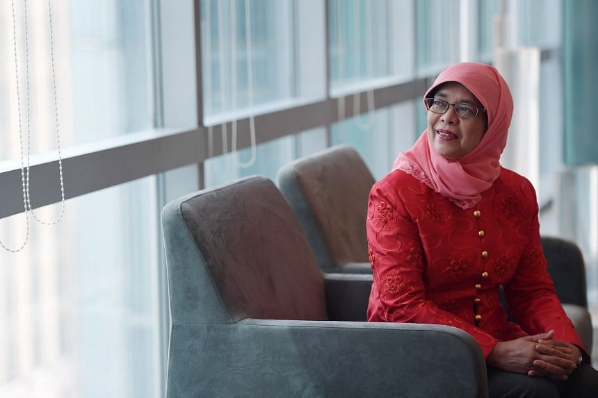 Madam Halimah firmly refutes the view that the reserved election entails a trade-off between multiracialism and meritocracy. She says it gives fair access for all races to be represented at one time or other, in the highest office of the land, while