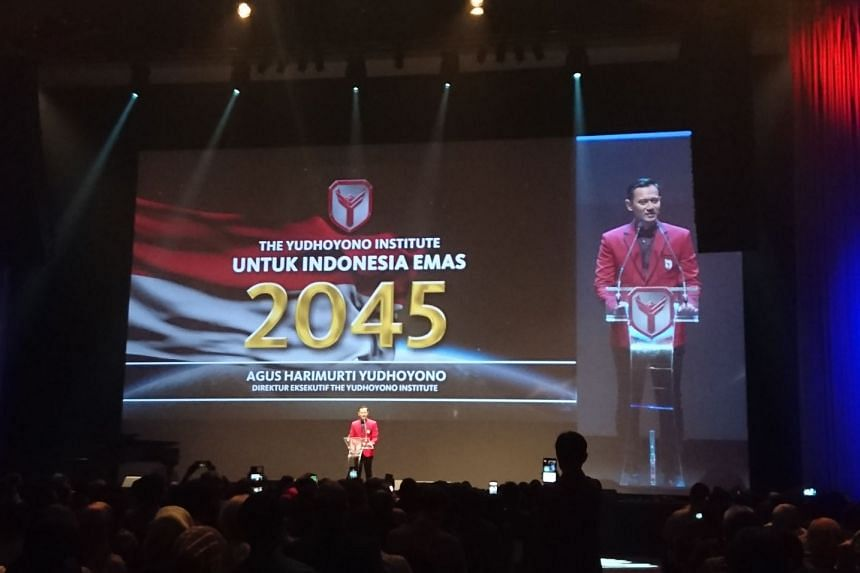 Agus Harimurti Yudhoyono, the son of Indonesia's former president Dr Susilo Bambang Yudhoyono has launched a new think-tank, aimed at developing young people, ideas and solutions to lead the country into a golden era by 2045.