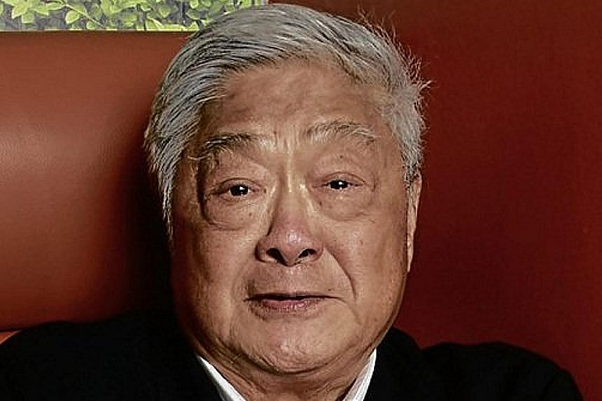Founder John Gokongwei of conglomerate JG Summit Holdings.