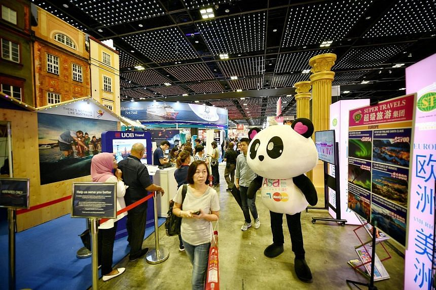 This year's Natas fair, which will run till tomorrow, has 80 exhibitors occupying more than 700 booths at Suntec Singapore Convention and Exhibition Centre. Admission is free for the public.
