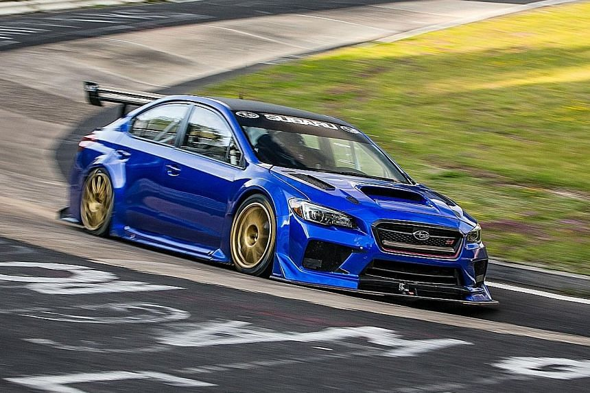 The WRX STI Type RA NBR Special.