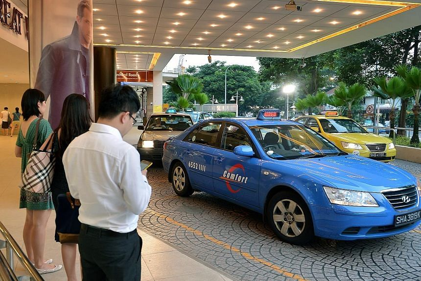 ComfortDelGro's taxi business suffered over the quarter, taking revenue hits in Singapore, Britain and China. However, revenue from its public transport services rose as subsidiary SBS Transit saw increased ridership.