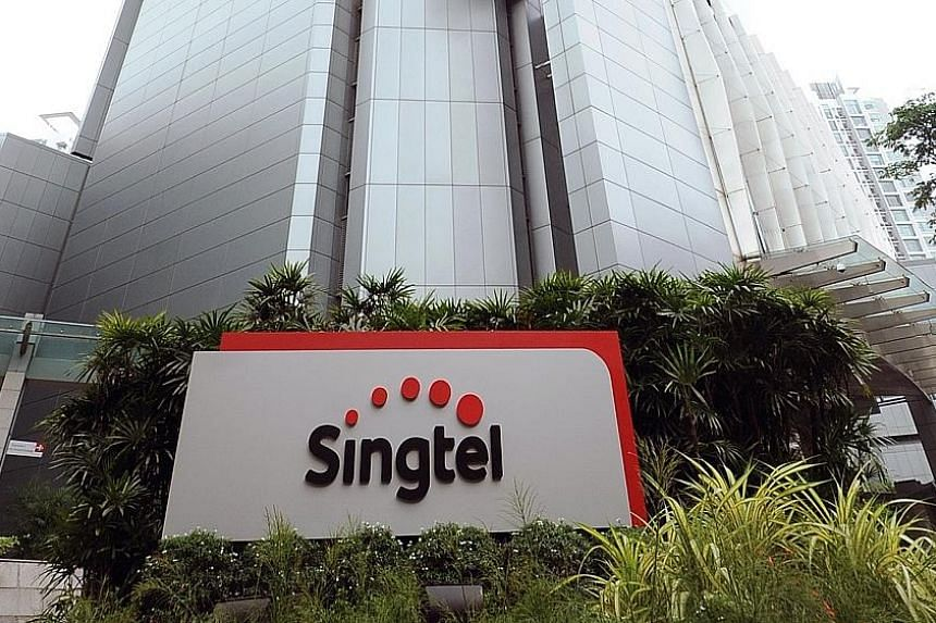 """Singtel management kept its guidance for group revenue to grow by """"mid single digit"""" and Ebitda to grow by low single digit this year."""