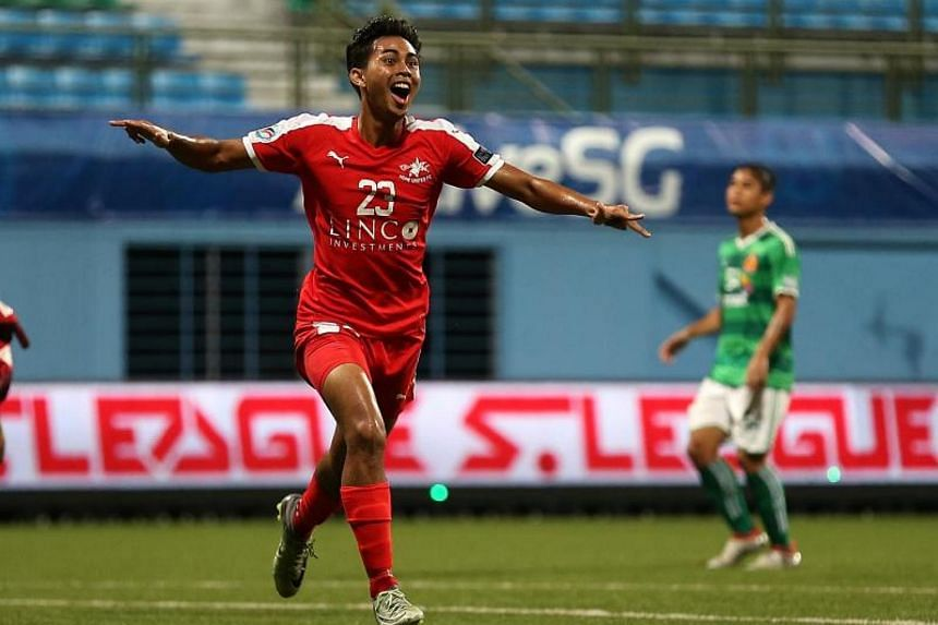 Home United midfielder Adam Swandi is still fighting to recover from damaged ankle ligaments.