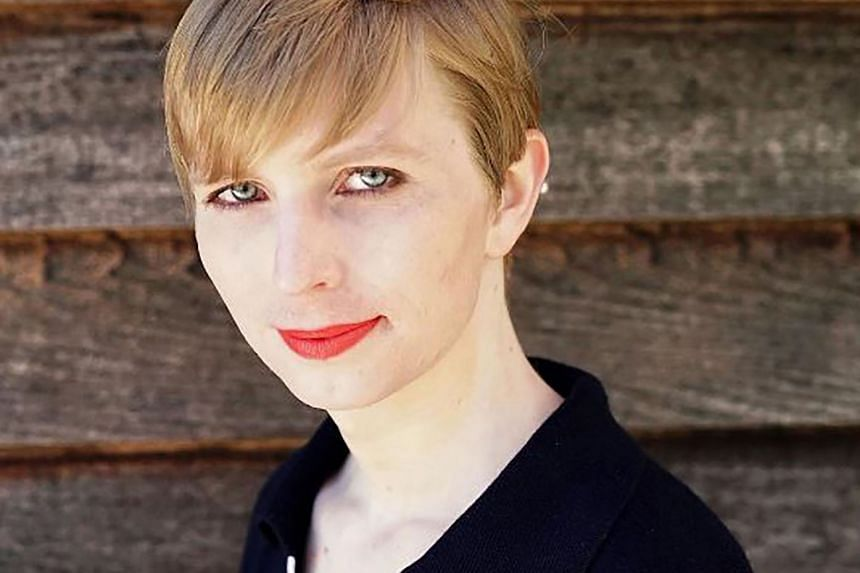 Chelsea Manning in a May 2017 photo posted to Instagram.